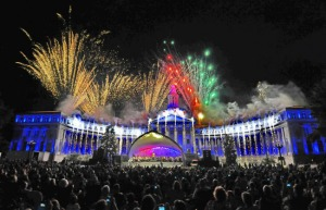 Fireworks Over Capital
