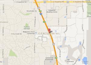 Centennial, CO Map