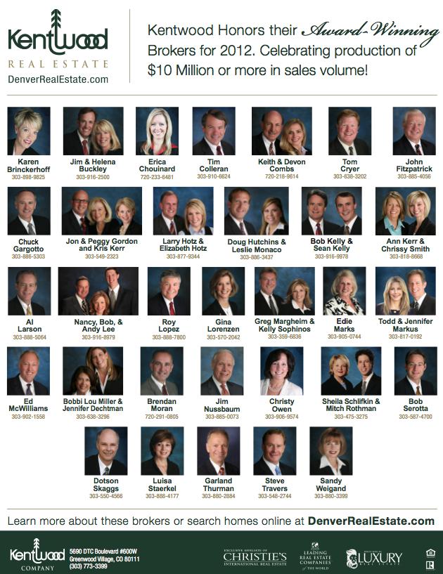 $10 Million Dollar Award Winners - 2012