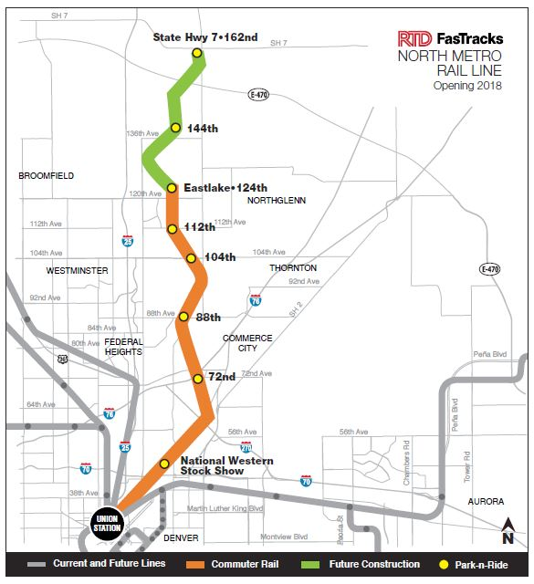 Rtd Light Rail Schedule H Line