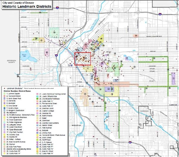 Historic Landmark Districts