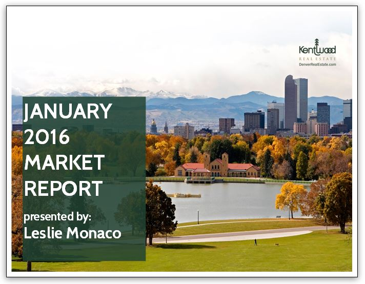 1. January 2016 Market Report