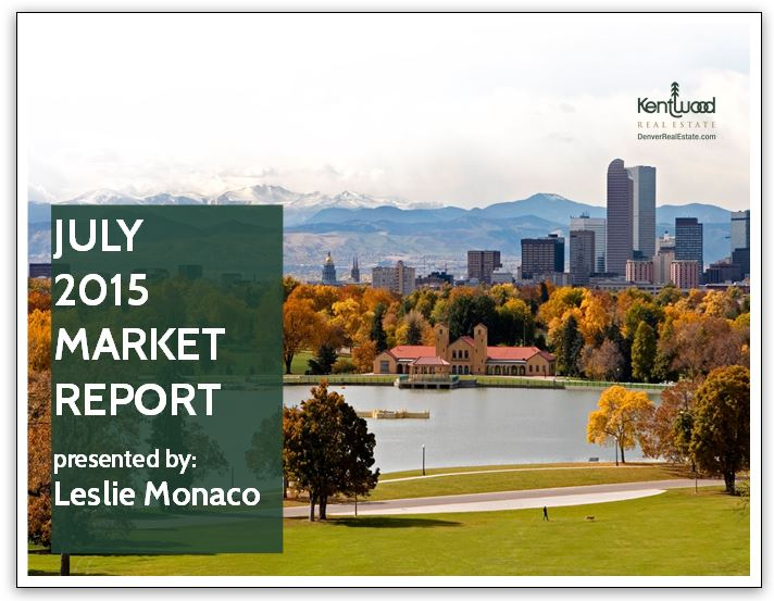 7. July 2015 Market Report