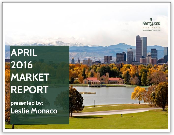 April 2016 Market Report Cover