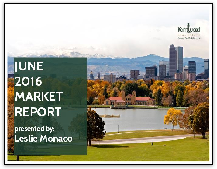 June 2016 Market Report Cover