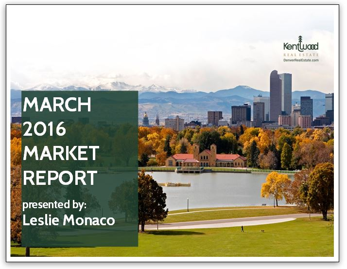 March 2016 Market Report Cover