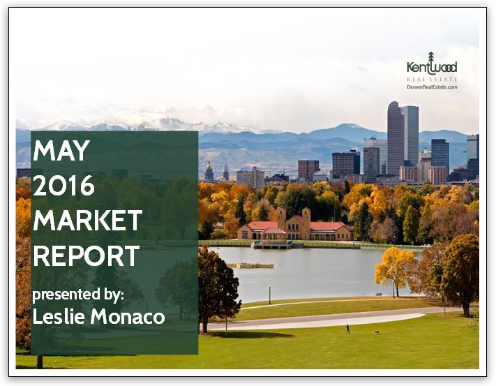 May 2016 Market Report Cover